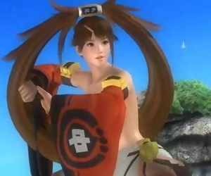 DOA5 Bare MOD Frenzy - GUILTY GEAR SPECIAL! PT. 2