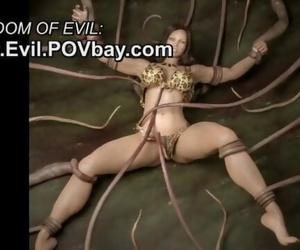 Evil 3D Hentai - CGI Monster Fantasy