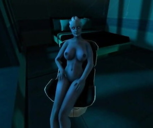 Mass Effect - one Night with Liara