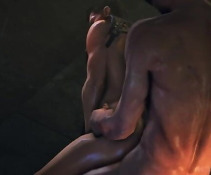 Resident Evil 69 : Leon Kennedy and Piers Nivans Fuck