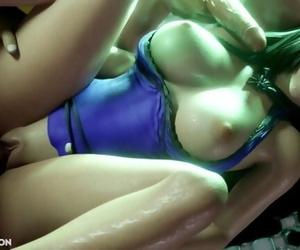 Tifa Lockart - Four-way Creampie