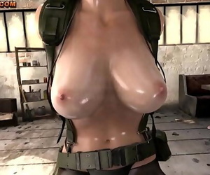 (WITH FART) Quiet from Iron Gear Solid finally talksPart 1..