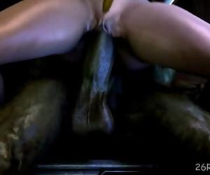 Samus aran fucked by a monster dick mutant 6 min 720p