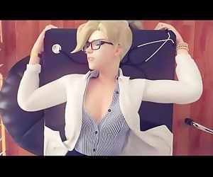 Screwing Mercy at the Office OVERWATCH HENTAImore videos..