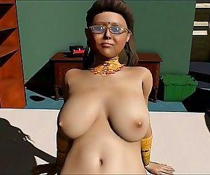 Indian desi pushpa mom string up firm nailing 7 min HD