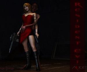 Resident evil Alice 3D