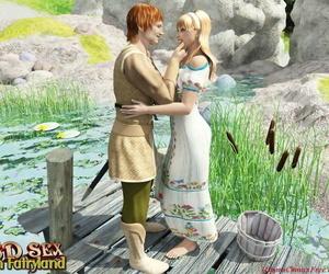 3D pornography comics - Fairyland 1