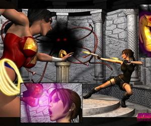 Mongo Bongo Lara Croft and Wonder Woman Tomb Raider-..