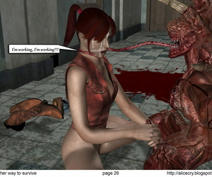 Resident evil: Another way to sustain comix - part 2