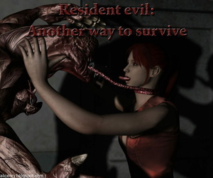 Resident evil: Another way to sustain comix