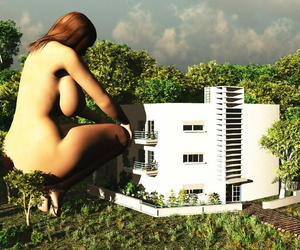 Giantess 3D by Nyom87 - part 4