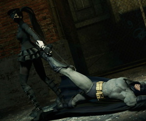 Brutal strikings of Batman by Switchblade Goddess - part 5