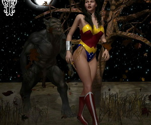 Chup@Cabra Diana vs The Lycan Wonder Woman