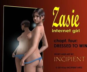 Incipient Zasie Internet Chick Ch. 4: Dressed To Win