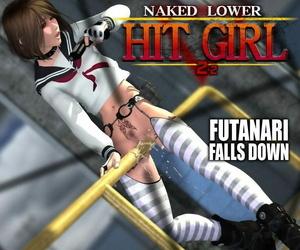 Nude Lower Strike GIRL 2nd FUTANARI FALLS DOWN Episode2