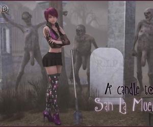 Damn3d A candle to San La Muerte