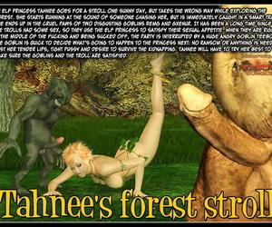 Taboo comics Tahnees forest stroll