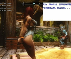 Skyrim huntress 1 上古5女猎手艾拉第一集) -..