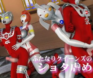 Absinthe Futanari Queens no Shota Ijime Ultraman