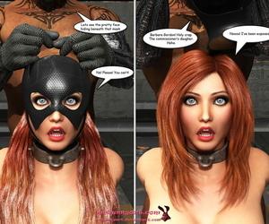 MrBunnyArt Batgirl vs Cain Batman English - part 2
