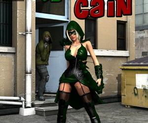 MrBunnyArt miss green arrow vs cain Green Arrow English