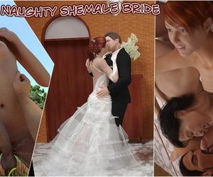 Horny T-girl Bride