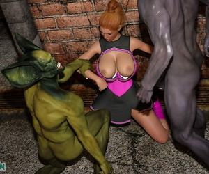3DSimon - Horny Goblins 1 Cheerleader - part 3