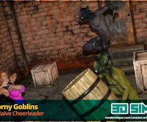 3DSimon - Horny Goblins 1 Cheerleader