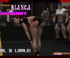 Joos3dart Gym Bunny Comic and Raw