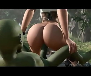 Youthfull elf gets screwed by green goblin Twenty-one min..