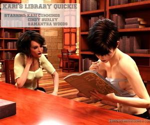 Senderland Studios Karis Library Quickie