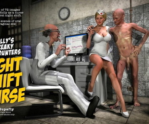 SupaFly Hollys Weird Meets - Night Shift Nurse sans white..