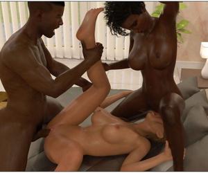 Sexy3DComics - Blackmaled: Kirstys Story 3 - part 4