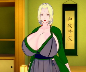 Koikatsu Tsunade becomes Raikages Wifey Naruto