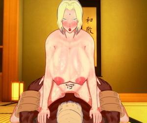 Koikatsu Tsunade becomes Raikages Wifey Naruto - part 4