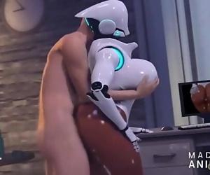 Robot Woman Hook-up 3 min