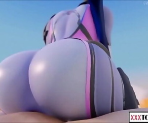 Compilation SFM Overwatch Dva and widow. Attempt not to..