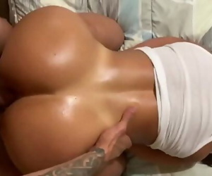 Her tasty vagina and big booty juggling on my dick made me..