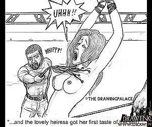 Brutal hentai hook-up slave fucking 15 min
