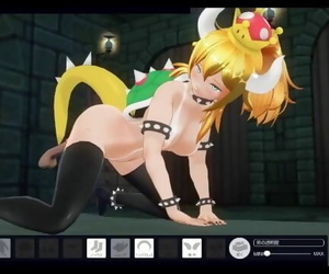 Bowsette - Custom-made MAID 3D 2