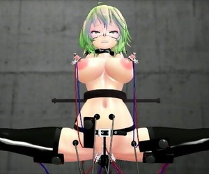 【MMD R-18】 Electrical Gumi