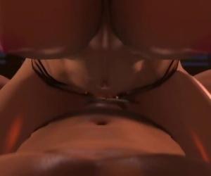 Street Fighter - Juri Cowgirl POV by Secazz