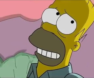 Simpsons Porn - Homer Smallish Marge