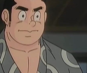Muscled Man in Japanese Anime