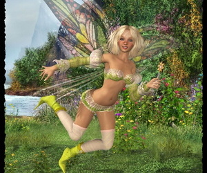 Another adorable fairy pussy-smothering
