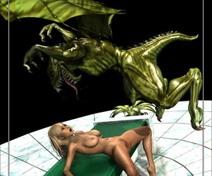 Mongo Bongo Blond & Lizard Fellating