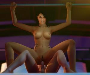 Mass Effect 3 - Ashley Williams Gmod Bevy - part 3