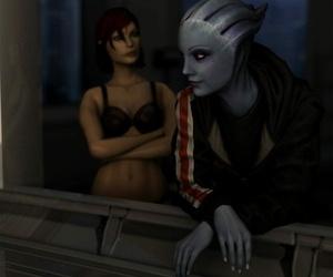 Fem. Shepard and Liara