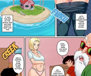 Android 18 & Gohan