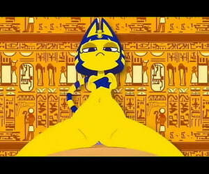 Egyptian cat utter movie (T iktok trend)